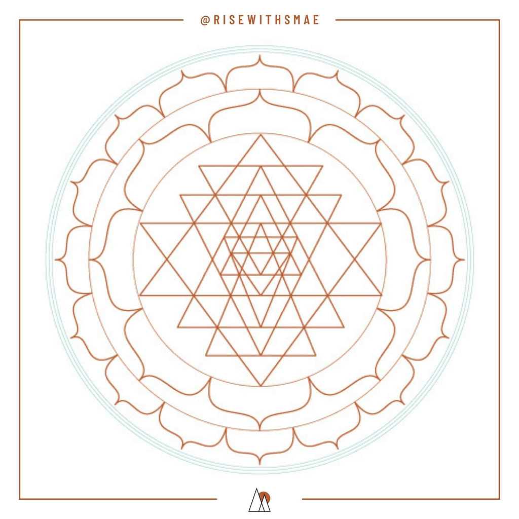 RISEWITHSMAE | Focus with the Sri Yantra